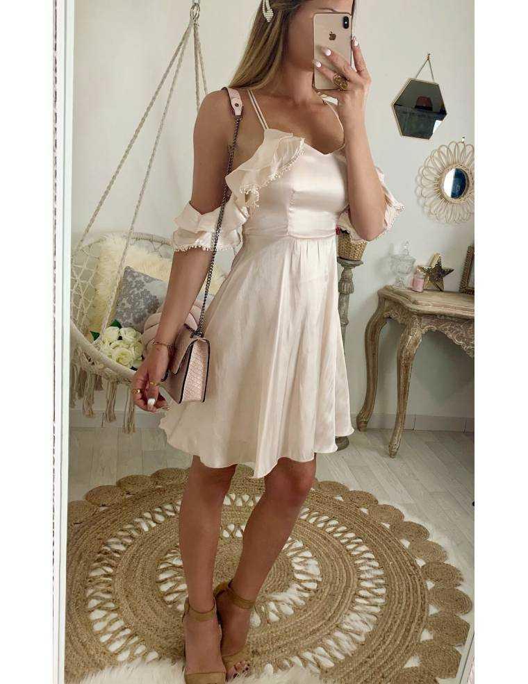 Ma superbe robe rose nude so chic - MyLook Féminin