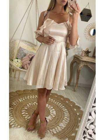 "Ma jolie robe longue cache coeur ""jolies roses"""