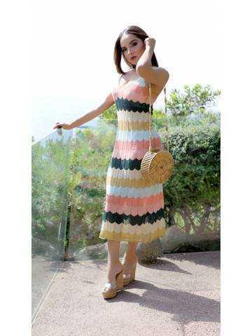 """Ma robe de plage """"So color"""""""