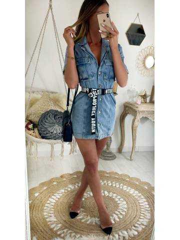 "Ma jolie robe en jeans ""style vintage"""