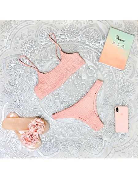 Mon petit bikini rose poudré