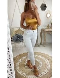 Mon body yellow gold style lycra
