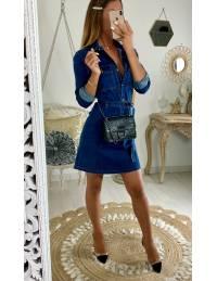 """Ma jolie robe en jeans """"boutonnée"""""""