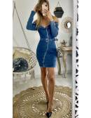 "Ma jolie robe en jeans ""zippée"""