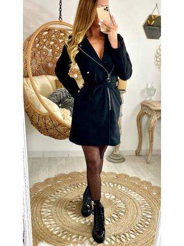 """Mon manteau black """"style perfecto"""""""