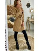 "Mon manteau camel ""style perfecto"""