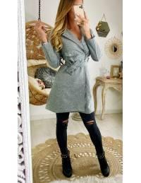 """Mon manteau grey """"style perfecto"""""""