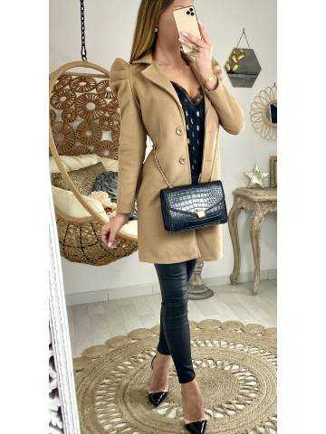Mon manteau caramel