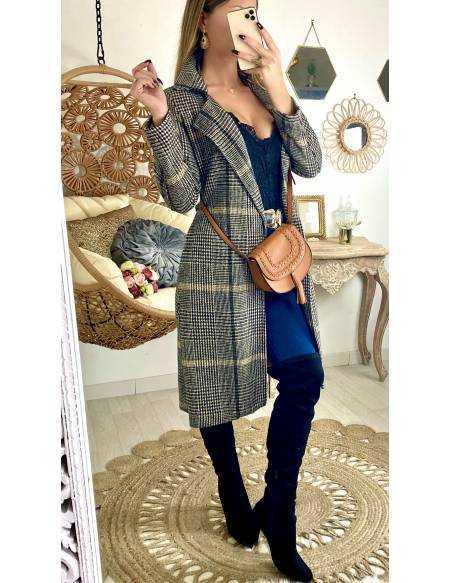 Mon joli manteau style vichy