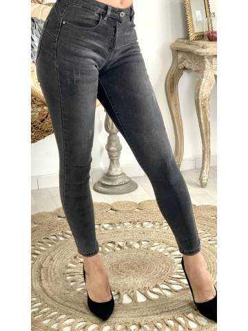 """Mon joli jeans """"gris foncé délavé"""""""