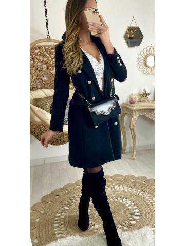 Mon manteau noir