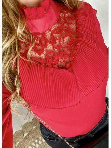 Ma jolie blouse rouge
