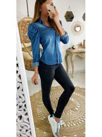 Ma jolie chemise en jeans