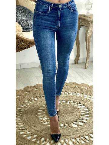 "Mon Jeans slim ""basic taille haute"""