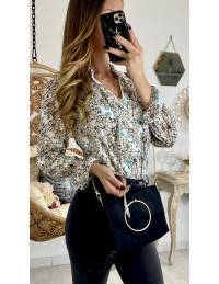 """Ma jolie blouse fleurie """"pastel & gold"""""""