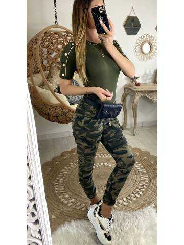 """Mon jeans """"Cargo army"""""""