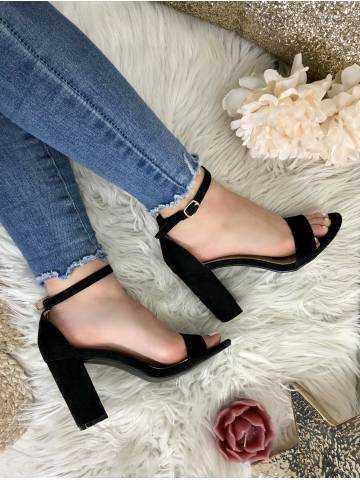 Mes sandales à talons black