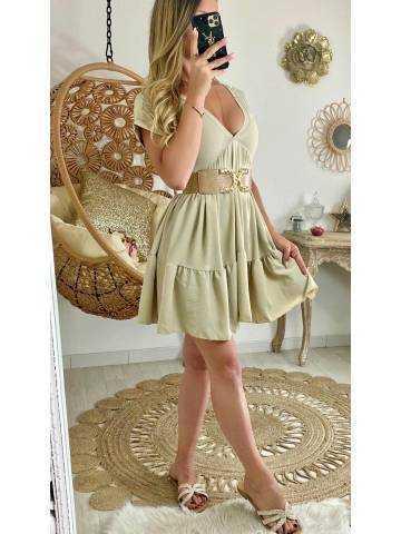 Ma jolie robe ample beige