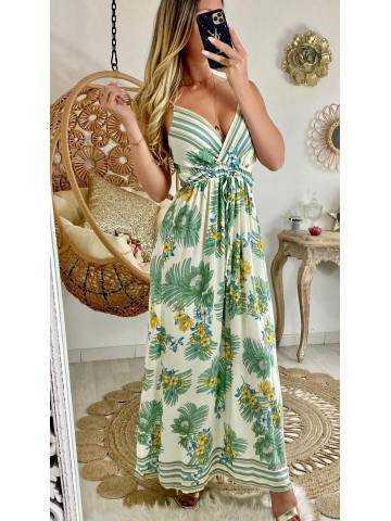 "Ma jolie robe longue ""leaf green"""