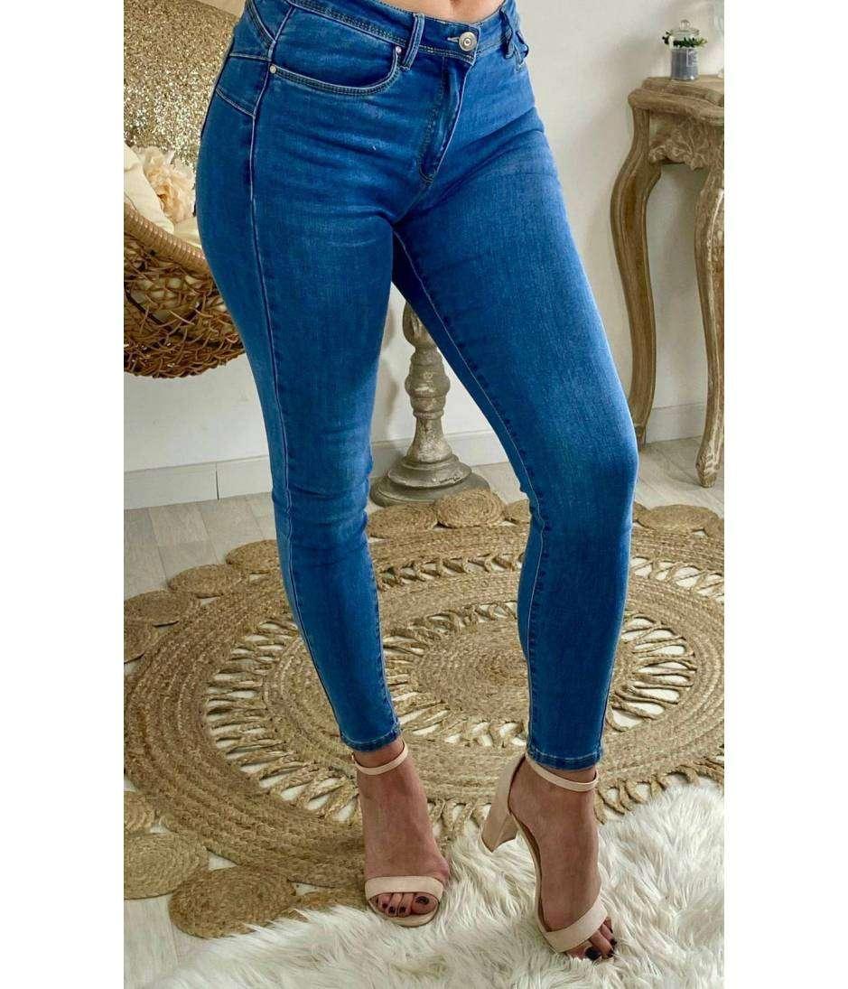 """Mon joli jeans """"blue & push up"""""""