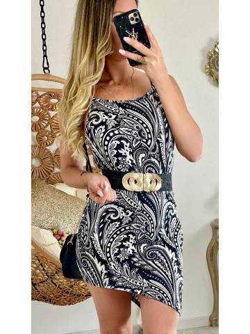 Ma jolie robe/tunique cashmere asymétrique