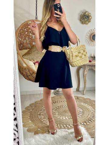 """Ma jolie robe noire """"col volant"""""""