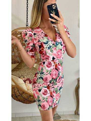 Ma superbe robe new pink flowers
