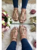 "Mes petites sandales ""roses gold"""