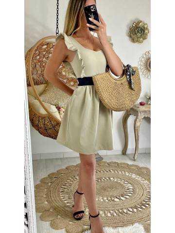 """Ma petite robe beige """"classy"""""""