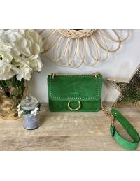 "Mon sac en cuir green ""coup de coeur"""