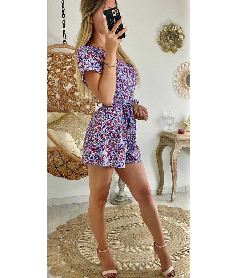 "Ma combi-short ""purple print"""