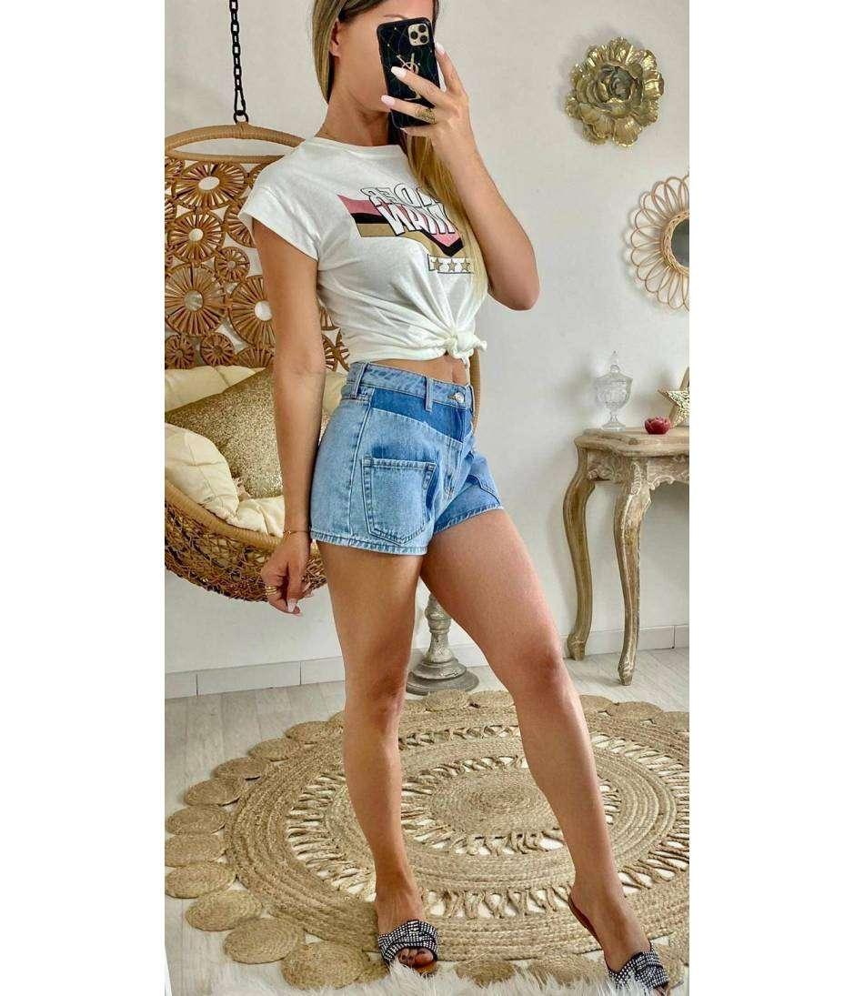 """Mon short en jeans """"poches"""""""