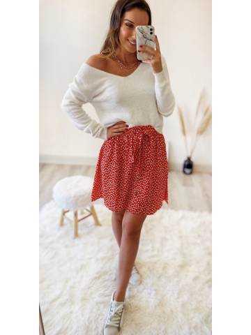 Ma petite jupe rouge liberty
