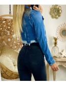"""Ma veste en jeans """"details destroy"""""""