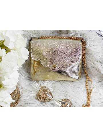 """Mon petit sac Gold """"anse chaînette """""""