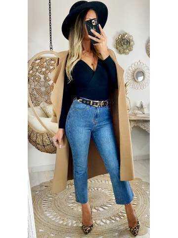 Mon jeans droit et cropped
