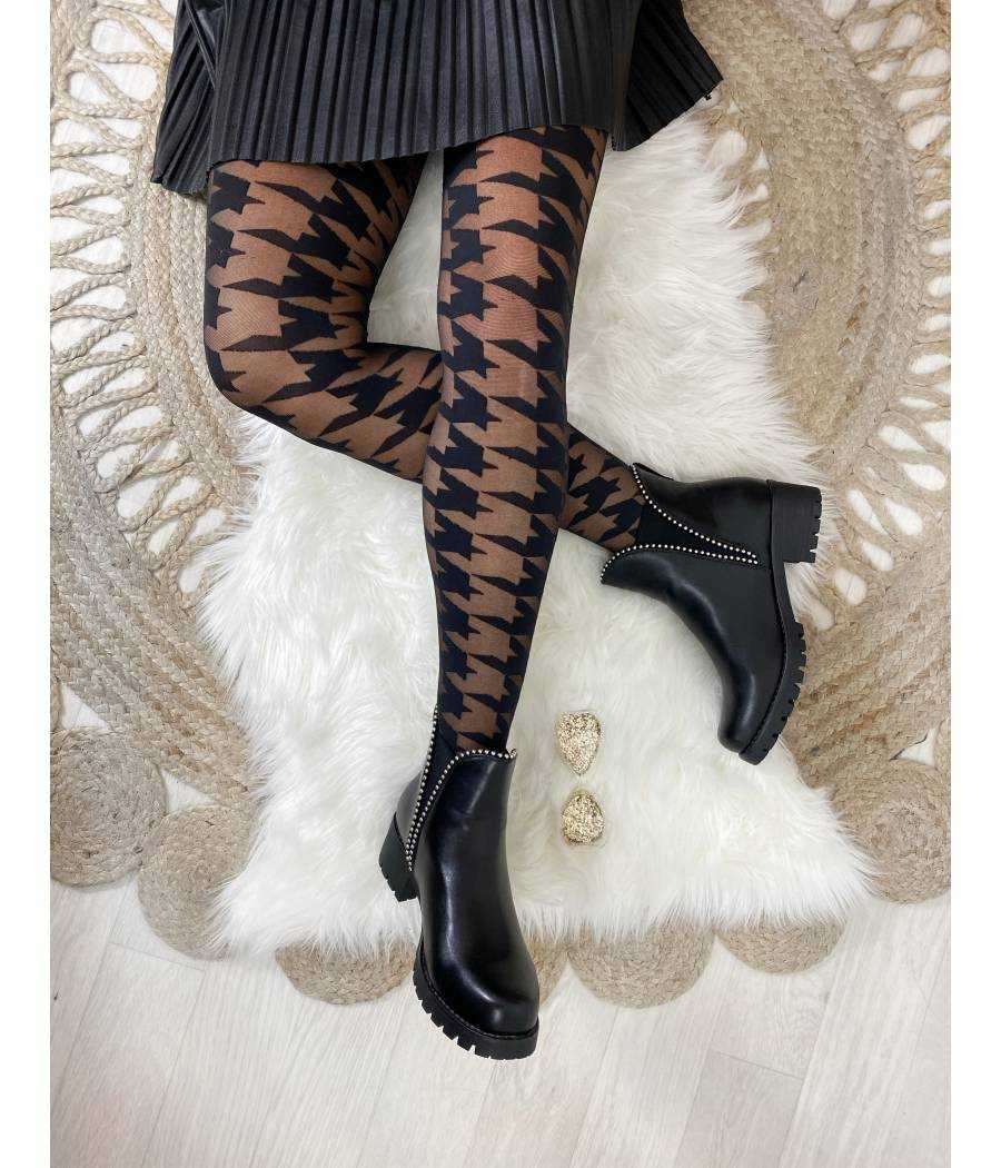 "Collants "" Pied de poule"""