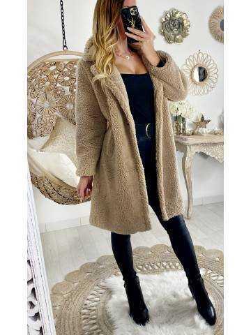 Mon joli manteau loose doudou beige II