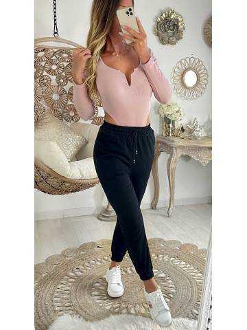 Mon pantalon style jogging black