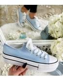 """Mes jolies baskets Bleu ciel """"Inspi"""""""