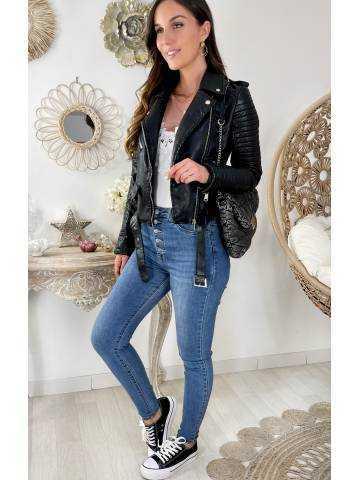Mon perfecto style cuir black II