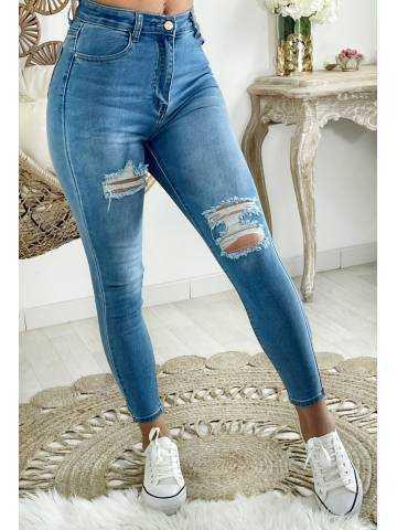 """Mon Jeans taille """"light blue & destroy"""""""