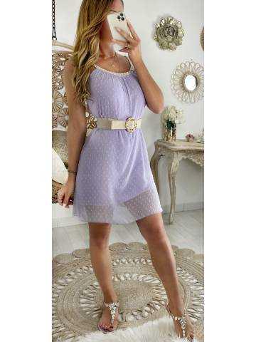 """Ma jolie robe Lila """"col tressé"""""""