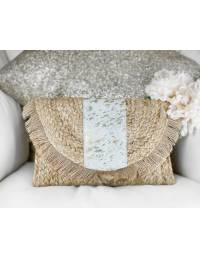 """Mon sac style bambou """" Touch Gold & Franges"""""""