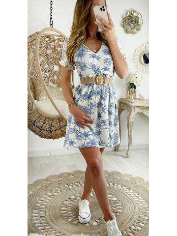 "Ma jolie robe blanche "" Blue Print"""