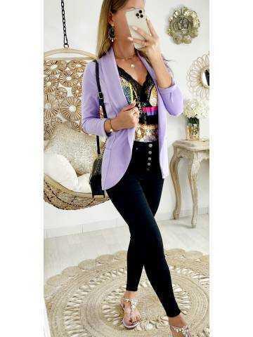 Ma jolie veste légère lila II