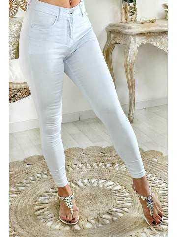 "Mon jeans blanc medium ""push up"""