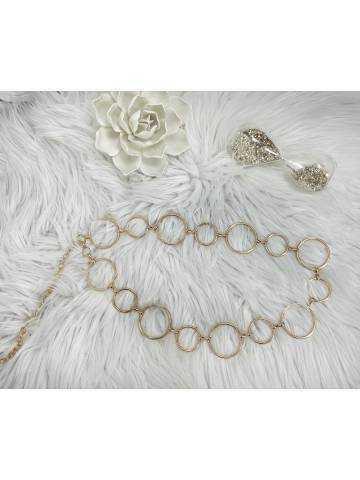 Ma jolie ceinture chaîne et anneaux