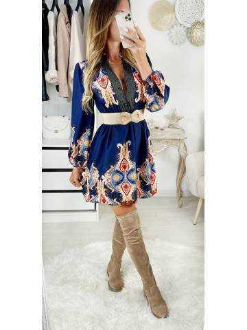 "Ma jolie robe ""marine & print"""