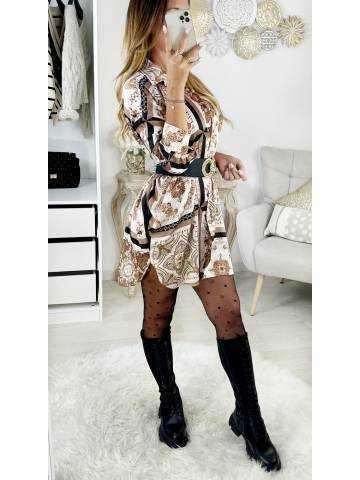 """Ma superbe robe fluide imprimée """"Couture"""""""